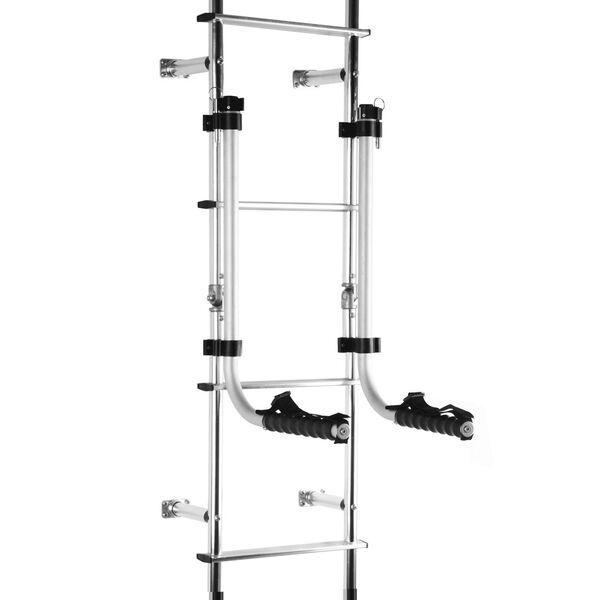 Outdoor Ladder Chair Rack