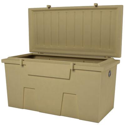 TitanSTOR Small 4' Dock Box With Locking Set, Tan