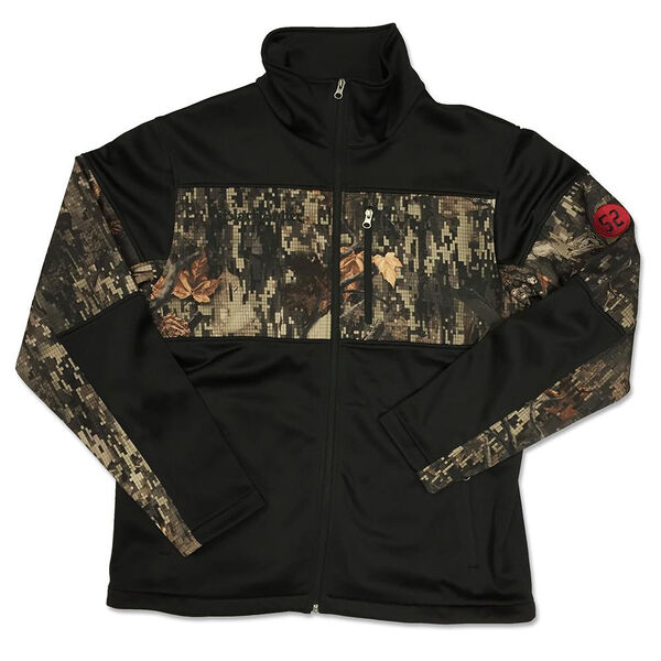 Black Antler Men's Stealth Softshell Jacket