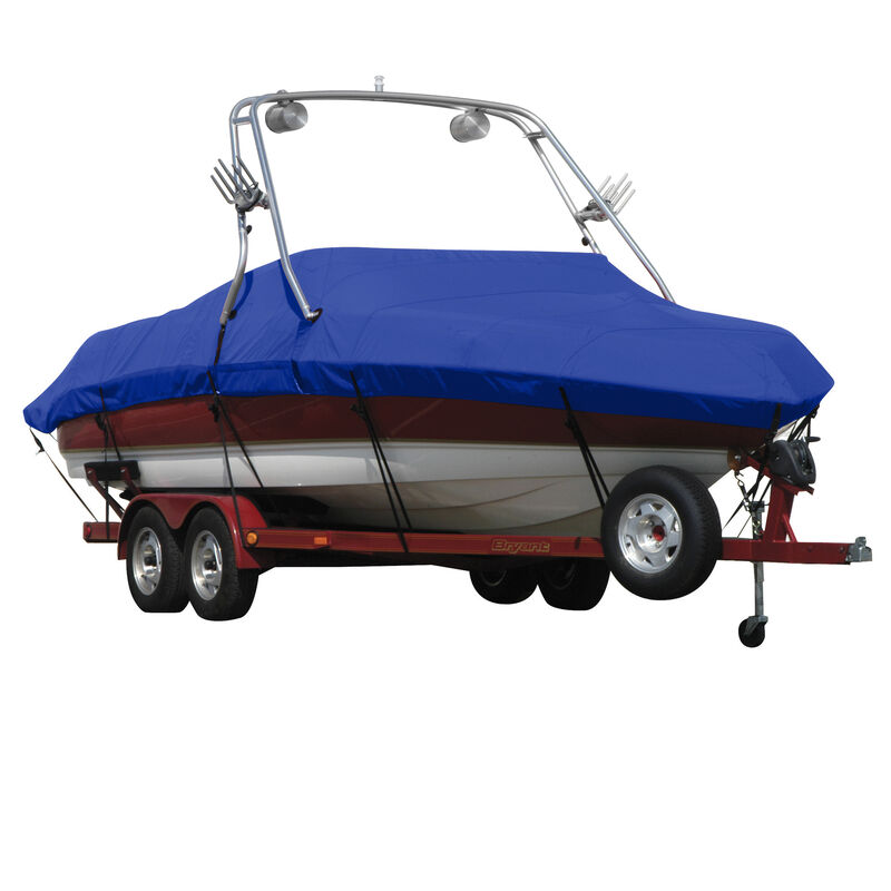 Exact Fit Covermate Sunbrella Boat Cover For MALIBU SUNSETTER 21 5 XTi w/TITAN 3 TOWER Doesn t COVER PLATFORM image number 14