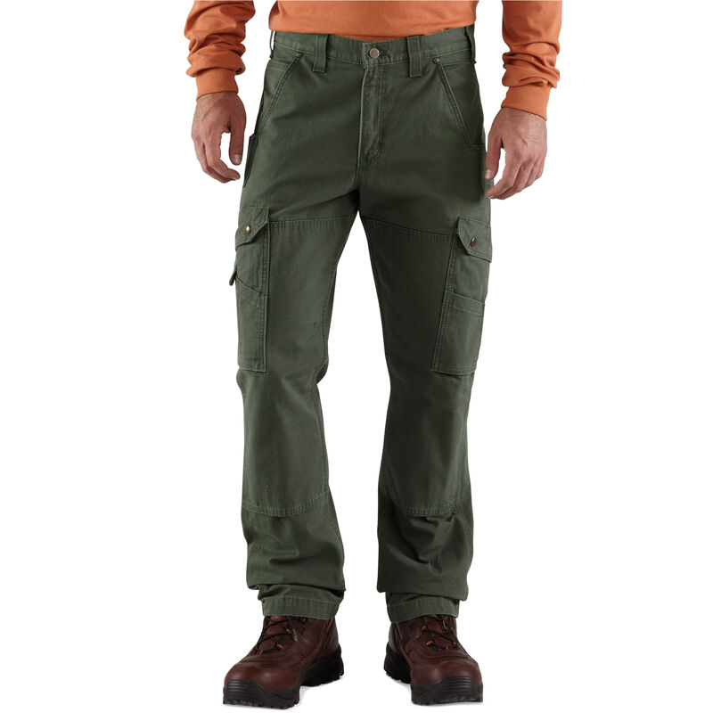 Carhartt Men's Relaxed Fit Double-Front Cargo Work Pant image number 4