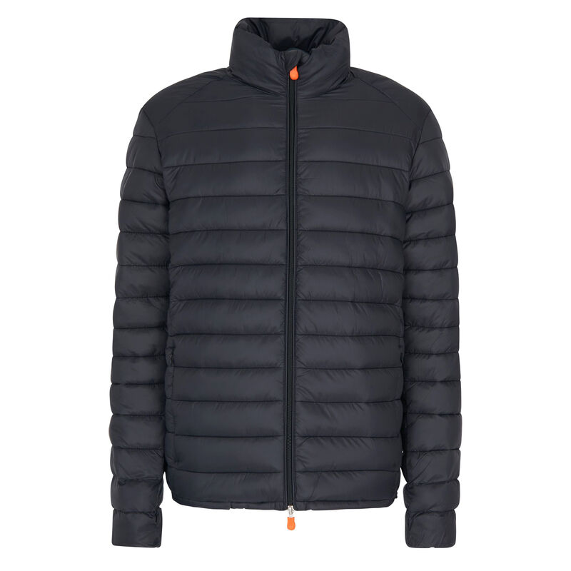 Save The Duck Men's Giga Mid Quilted Winter Coat image number 5