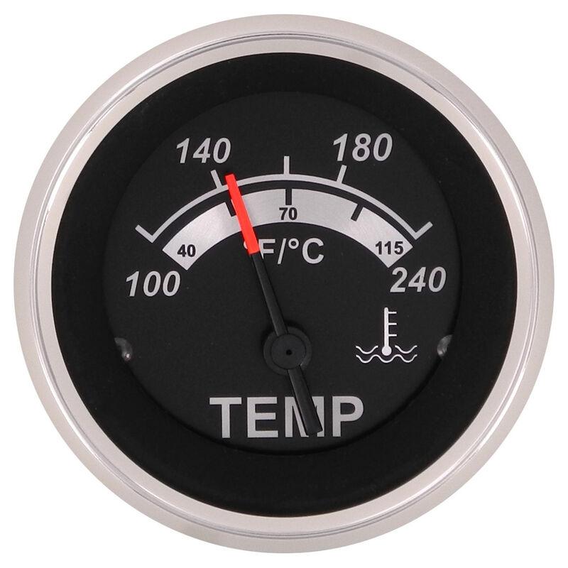 """Sierra Black Sterling 2"""" Water Temperature Gauge image number 1"""