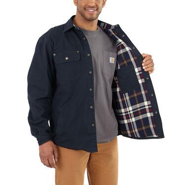 Carhartt Men's Weathered Canvas Shirt Jac