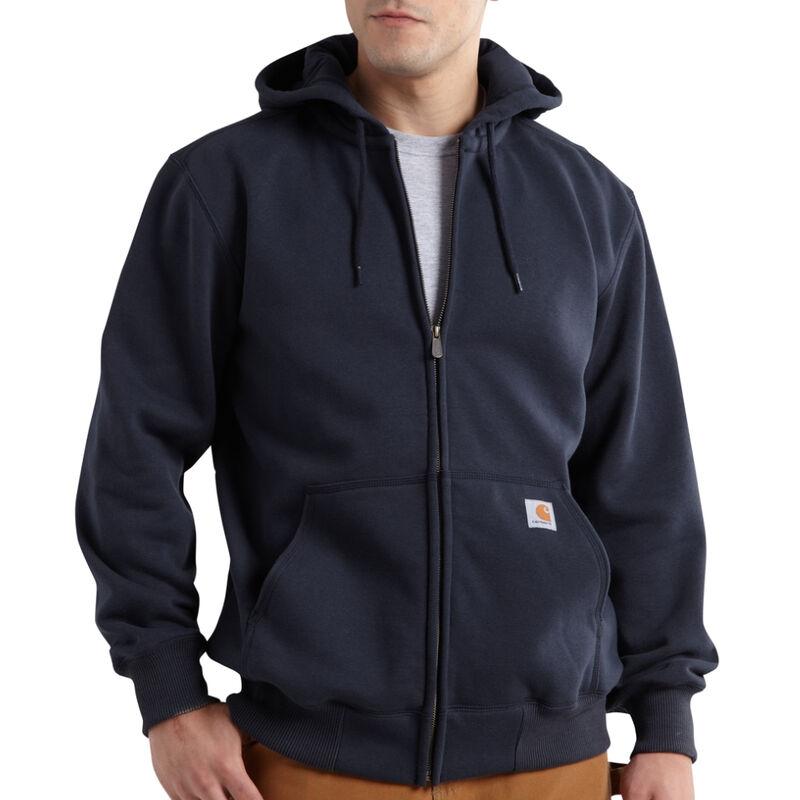 Carhartt Men's Rain Defender Paxton Heavyweight Hooded Zip-Front Sweatshirt image number 2
