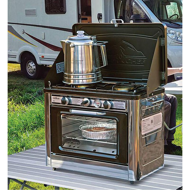 Camp Chef Outdoor Camping Oven and 2-Burner Stove image number 2
