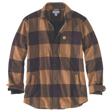 Carhartt Men's Rugged Flex Hamilton Fleece-Lined Shirt