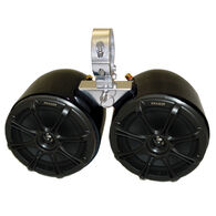 """Monster Tower Kicker Double Barrel Speakers With 2.5"""" Inserts"""