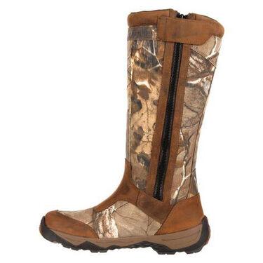 """Rocky Men's 17"""" Retraction Waterproof Side-Zip Snake Boot"""