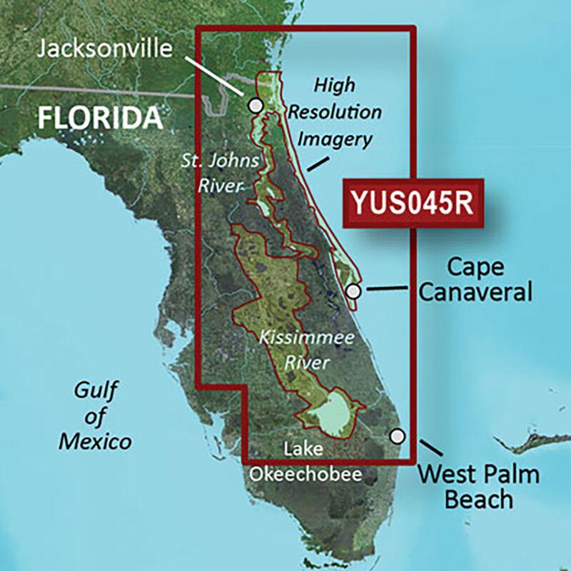 Garmin BlueChart g2 HD Cartography, Florida East Coast/Kissimmee River System image number 1