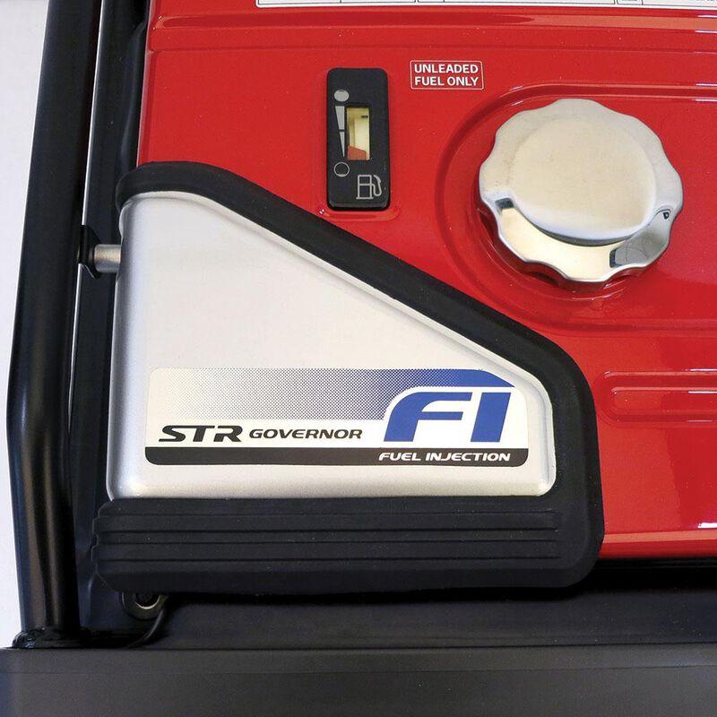 Honda EU7000iS 7,000 Watt Super Quiet Portable Inverter Generator with Electric Start image number 3