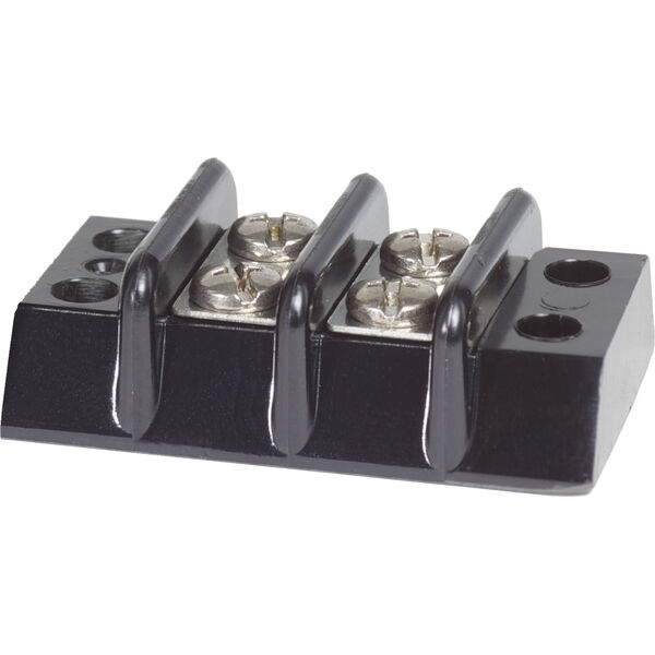 Blue Sea Systems Terminal Block, 30A, 2 Circuit