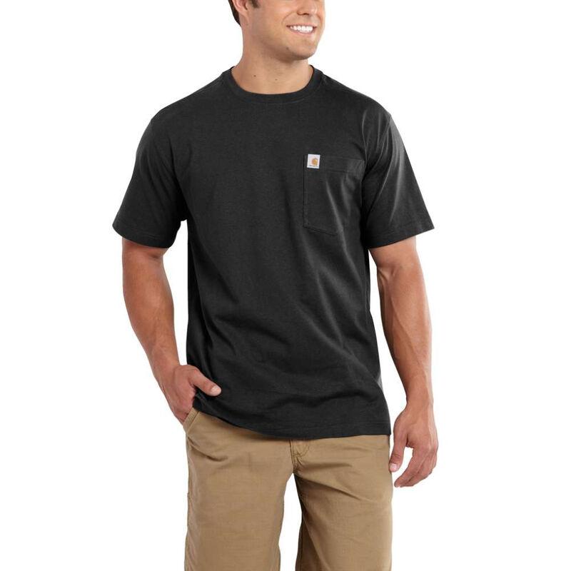 Carhartt Men's Maddock Pocket Short-Sleeved T-Shirt image number 1