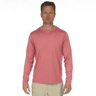 Nepallo Men's Trophy Sun Protection Solid Long-Sleeve Tee
