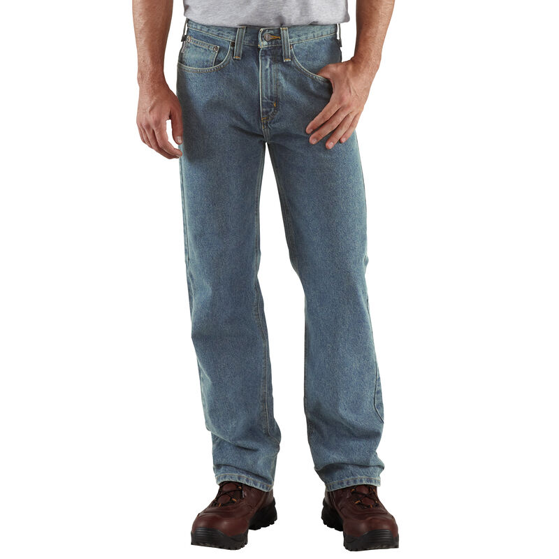 Carhartt Men's Relaxed-Fit Straight-Leg Jean image number 2