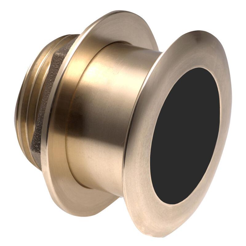 Raymarine B175L Bronze 1kW Depth/Temp Thru-Hull Transducer - 20° Tilted Element image number 1