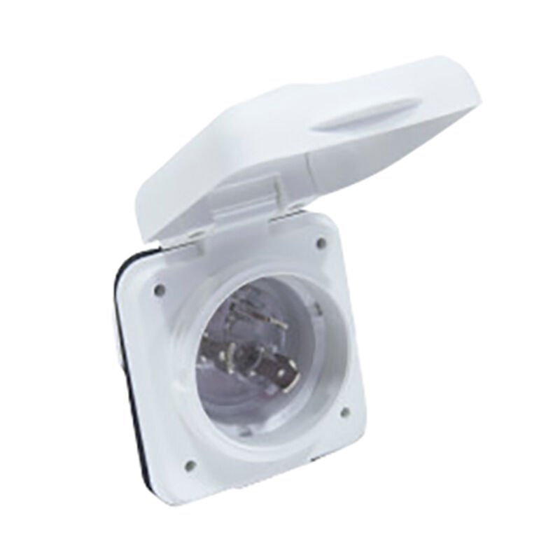 Furrion 30A Marine Power Smart Inlet (White) image number 2
