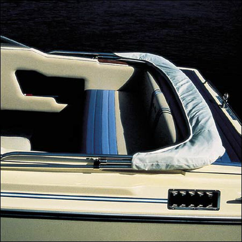 "Shademate Replacement White Vinyl Bimini Storage Boot, 54""-60"" image number 1"