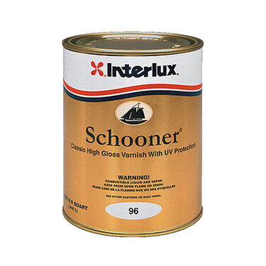 Interlux Schooner Varnish, Quart