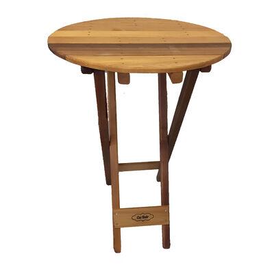 BistroBak Western Red Cedar Table