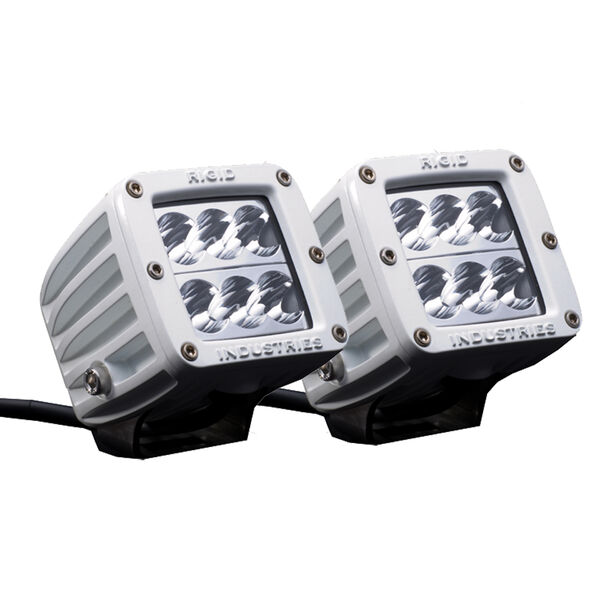 Rigid Industries M-Series Dually D2 Wide LED Lights, Pair