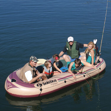 Solstice Voyager 6-Person Inflatable Boat