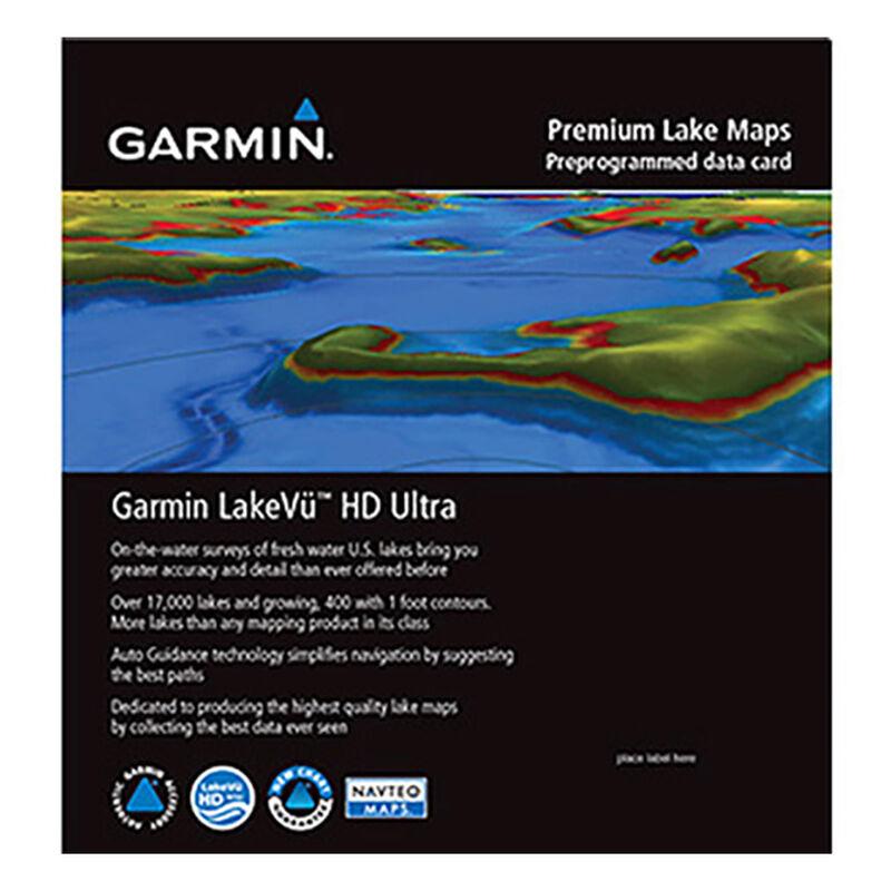 Garmin LakeVu HD MicroSD/SD Card For GPSMAP/echoMAP/ Series image number 1