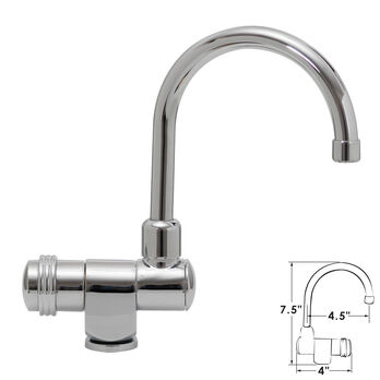 "ITC Fold-Down Bar/Cockpit Faucet, 7.5""H"