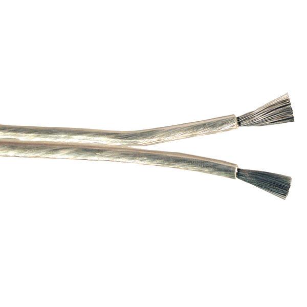 Ancor Super Flex Audio Cable, 14/2 AWG, Clear - 100'