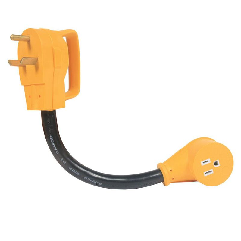 Power Grip Adapter - 30A Male to 15A Female image number 1