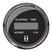 "Faria 2"" Chesapeake Digital Hourmeter, Black"