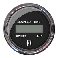 "Faria 2"" Chesapeake Digital Hourmeter, Black"