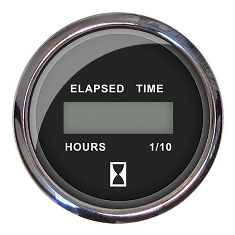 """Faria 2"""" Chesapeake Digital Hourmeter, Black  image number 1"""