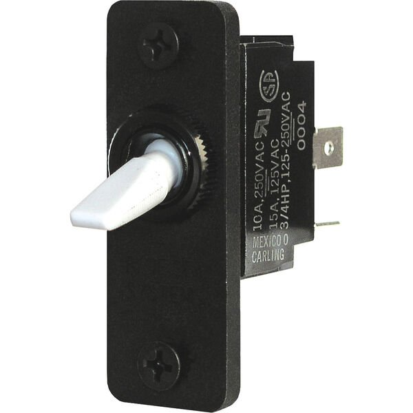 Blue Sea Systems Toggle Switch, DPDT ON-OFF-ON
