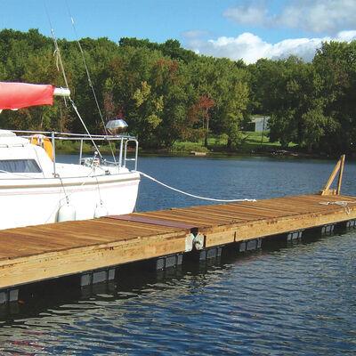 "Dock Float Black 24""x48""x12"""