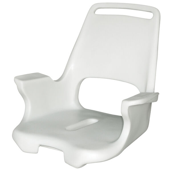 Wise Offshore Extra-Wide Captain's Chair, Molded Shell Only