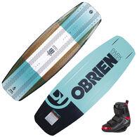 O'Brien Stiletto Wakeboard With GTX Bindings