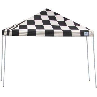 12X12 Pro Series Pop-Up Canopy - Checkered Flag