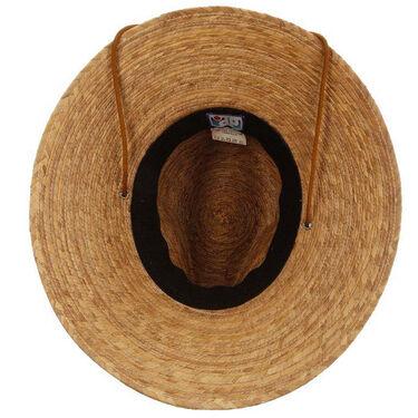 Dorfman Pacific Mt. Momma Palm Straw Lifeguard Hat
