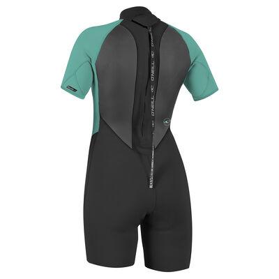 O'Neill Women's Reactor II Spring Wetsuit - Black/Aqua - 12