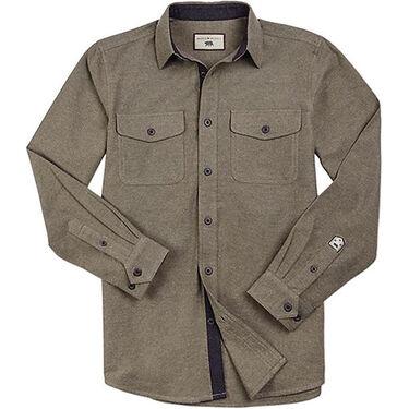 Dakota Grizzly Men's Ranger Heather Twist Chamois Long-Sleeve Shirt