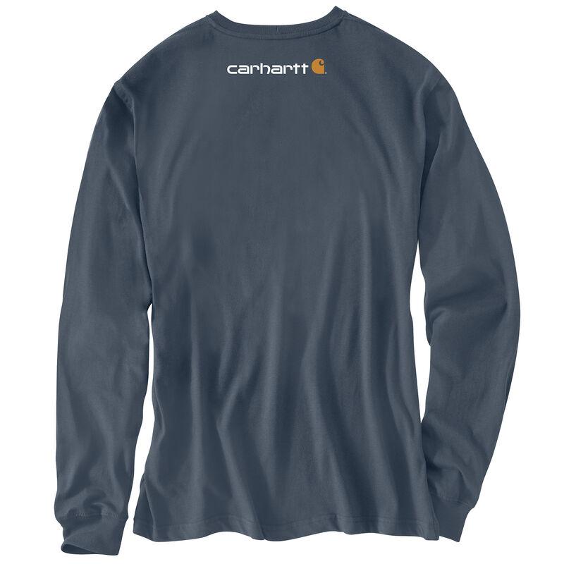 Carhartt Men's Long-Sleeve Logo Tee image number 10