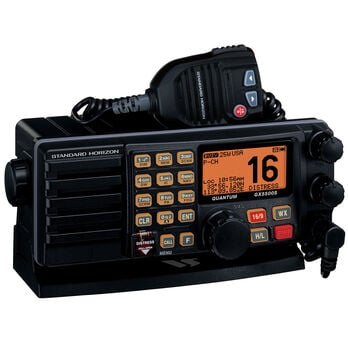 Standard Horizon GX5500S Quantum Fixed Mount VHF Radio with Alphanumeric Keypad