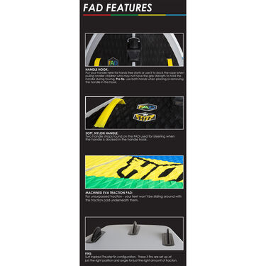 HO FAD Inflatable Board, 5'L