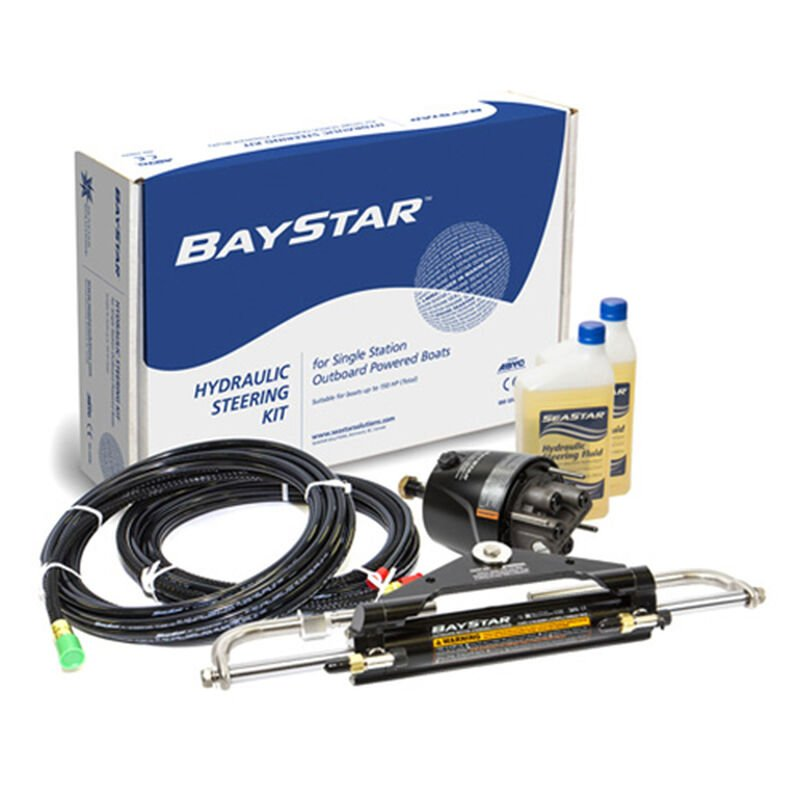 BayStar Hydraulic Steering System For Smaller Horsepower Outboards image number 1