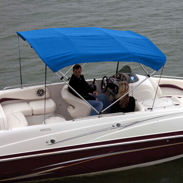 """Shademate Bimini Top Polyester Fabric/Boot Only, 4-Bow 8'L x 54""""H, 91""""-96""""W"""