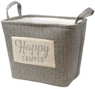 Happy Camper Storage Bin
