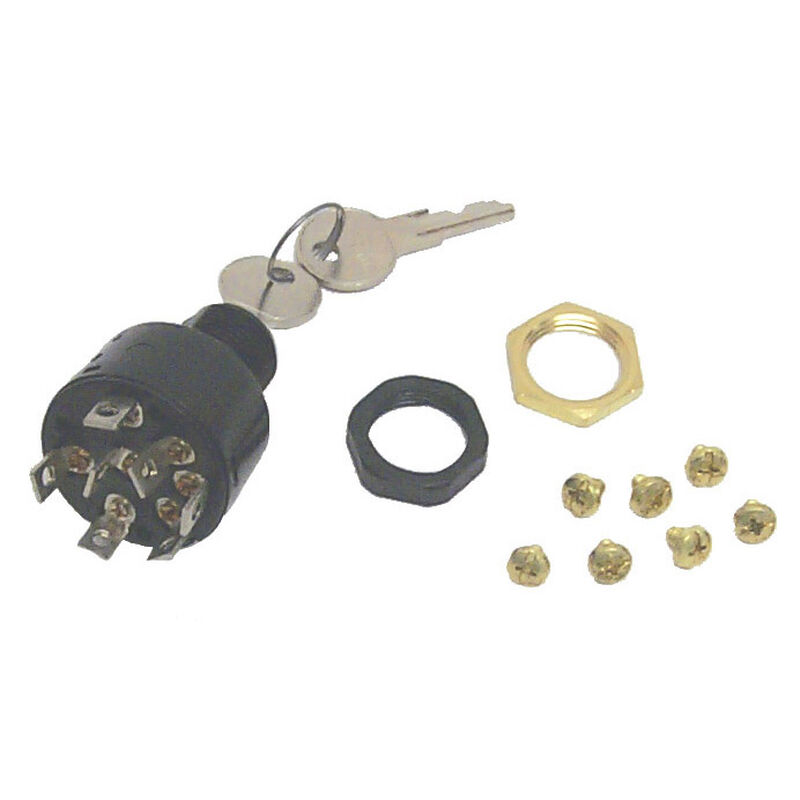 Sierra 4-Position Ignition Switch, Sierra Part #MP41010 image number 1