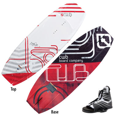 CWB Absolute 135 Wakeboard With Hale Bindings