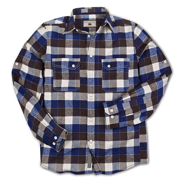 Dakota Grizzly Men's Arlo Buffalo Plaid Flannel Shirt